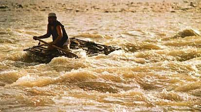荒岛求生木筏制作