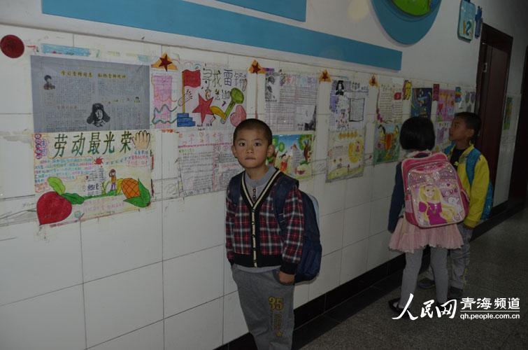 """组图:开学季 青海一年级新生带上""""名片""""上课堂【8】"""