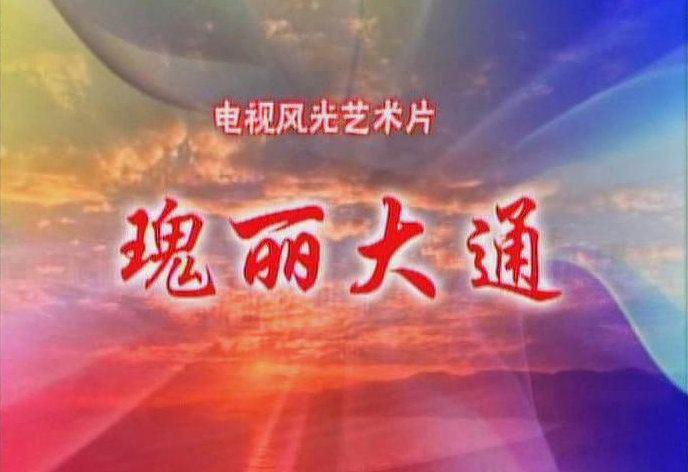 电视风光艺术片:瑰丽大通