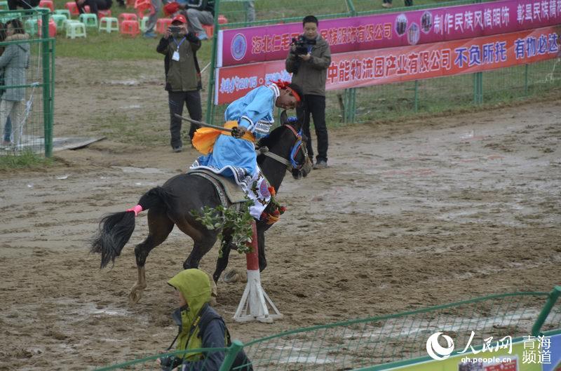 海北州海晏县第十四届民族运动会开幕