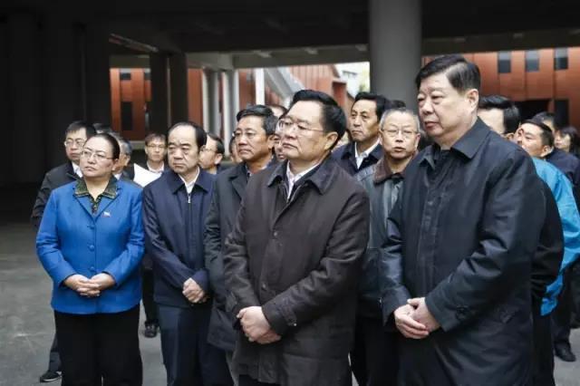 青海省党政代表团赴山东学习考察 海北州领导尼玛卓玛,阿更登,耿涛随