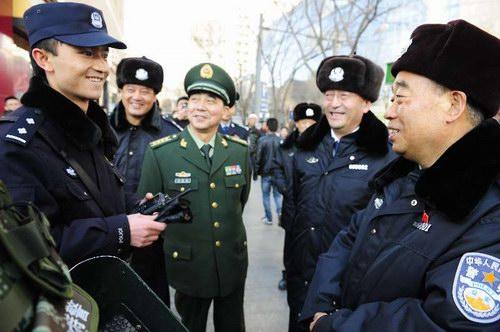 王正升:当好群众平安过年的守护者
