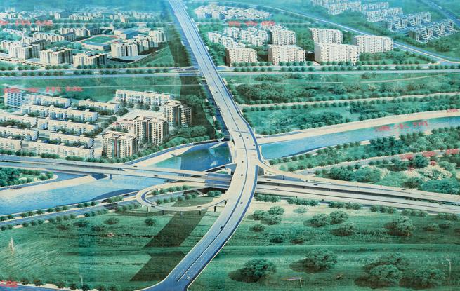 看:西宁拓路架桥建城市大动脉