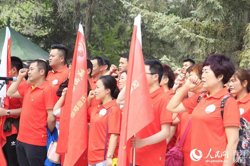火红的七月――青海西宁举办多项活动庆祝建党96周年