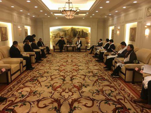 甘德县党政代表团赴上海市长宁区开展对口支援回访对接工作