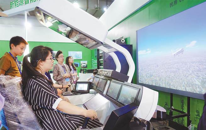 高科技闪耀北京科博会