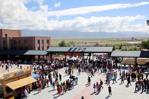 茶卡盐湖景区2018年游客量突破百
