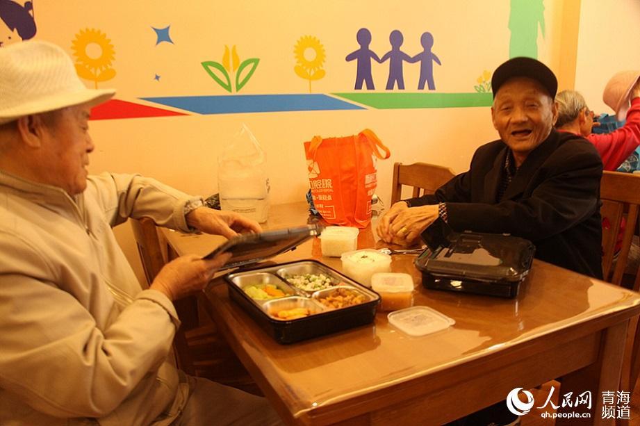 西宁最大爱老幸福食堂投入运营